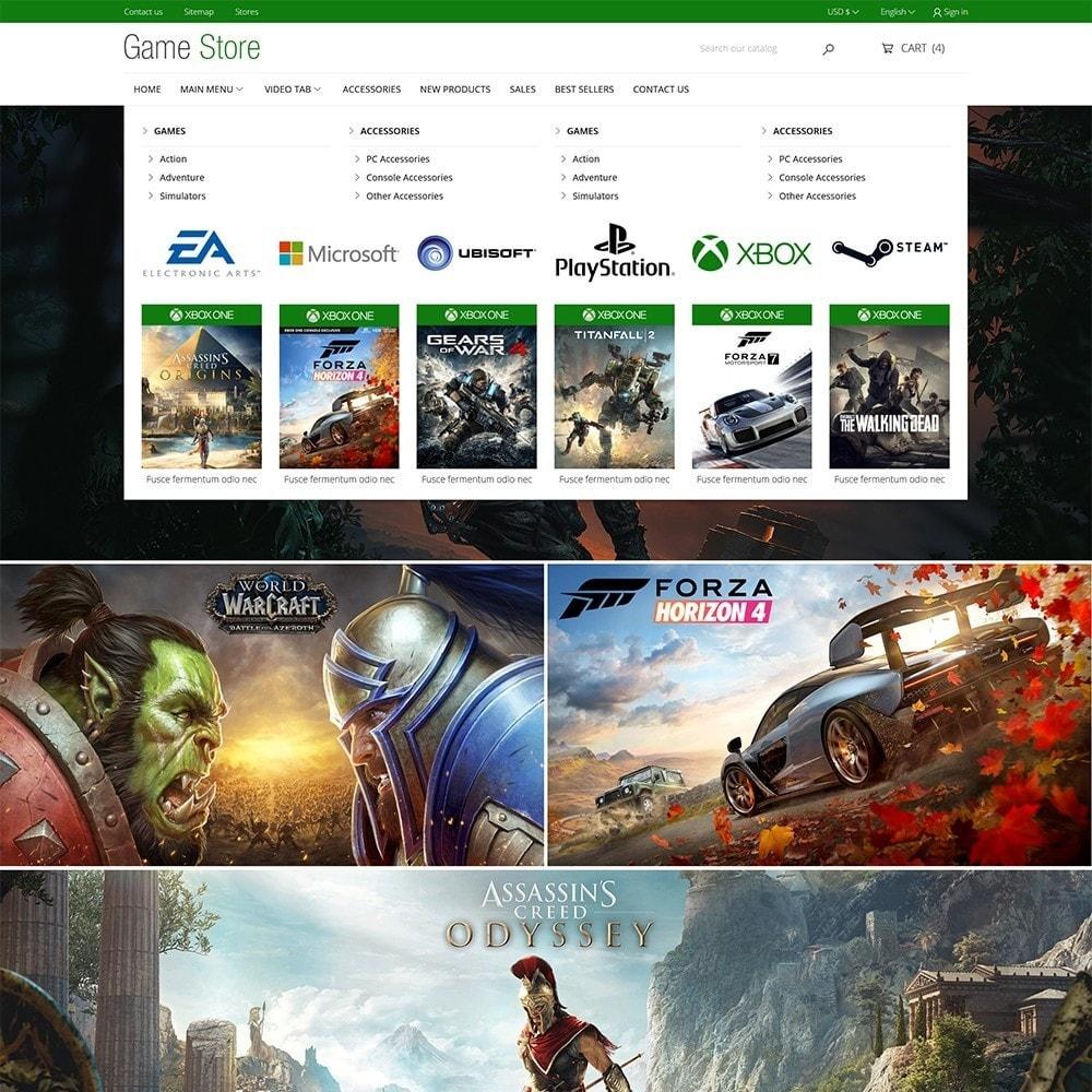 theme - Electrónica e High Tech - Games Store - 3