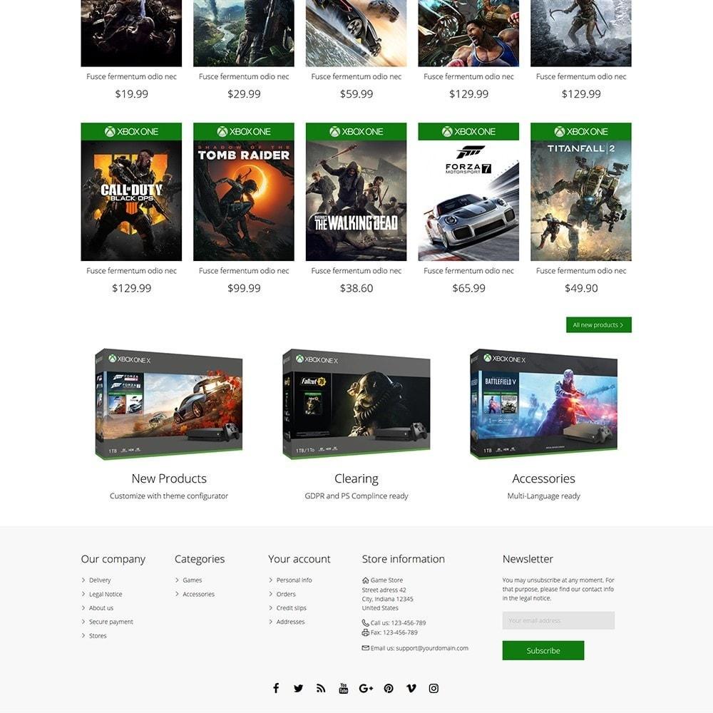 theme - Electrónica e High Tech - Games Store - 5