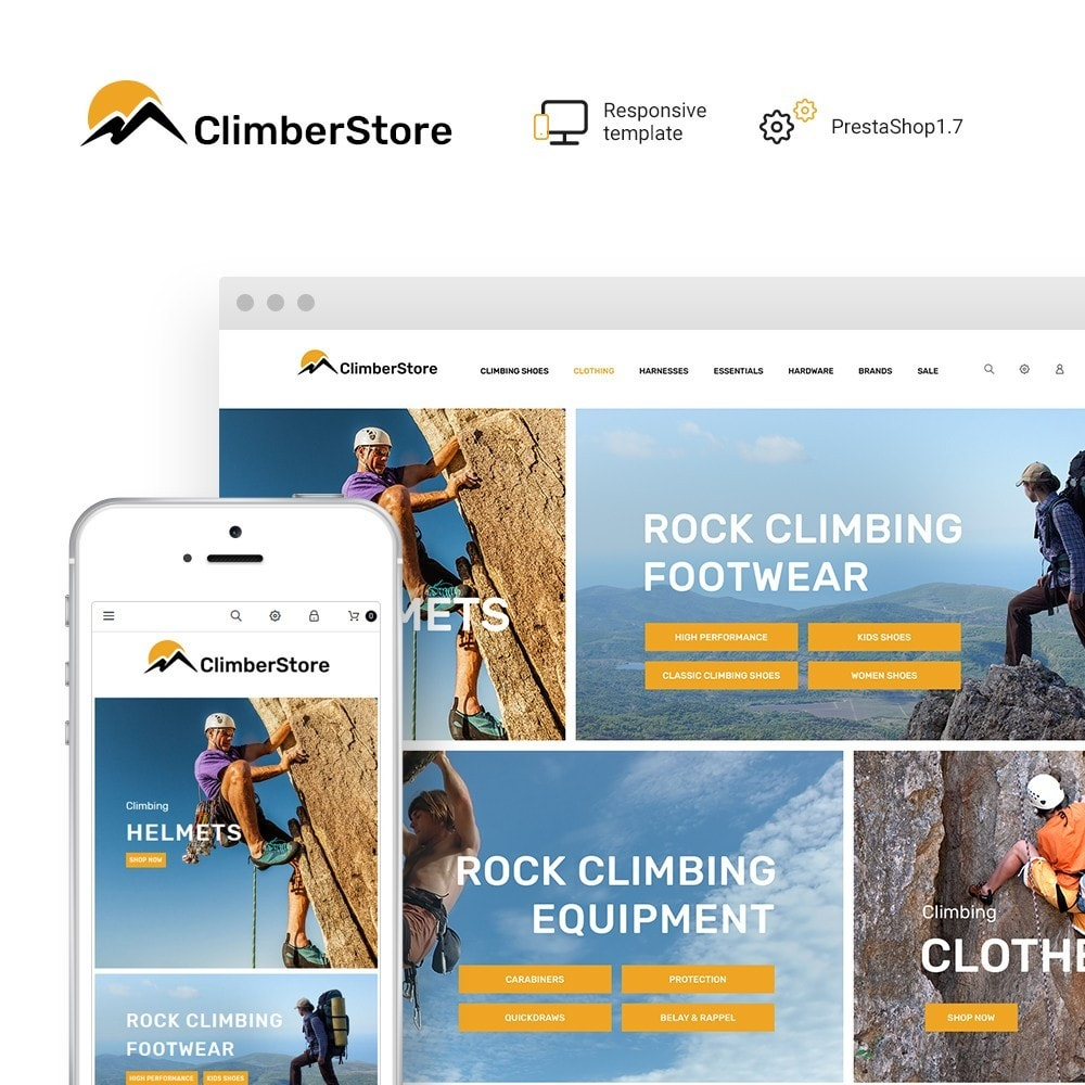 theme - Sports, Activities & Travel - ClimberStore - 1