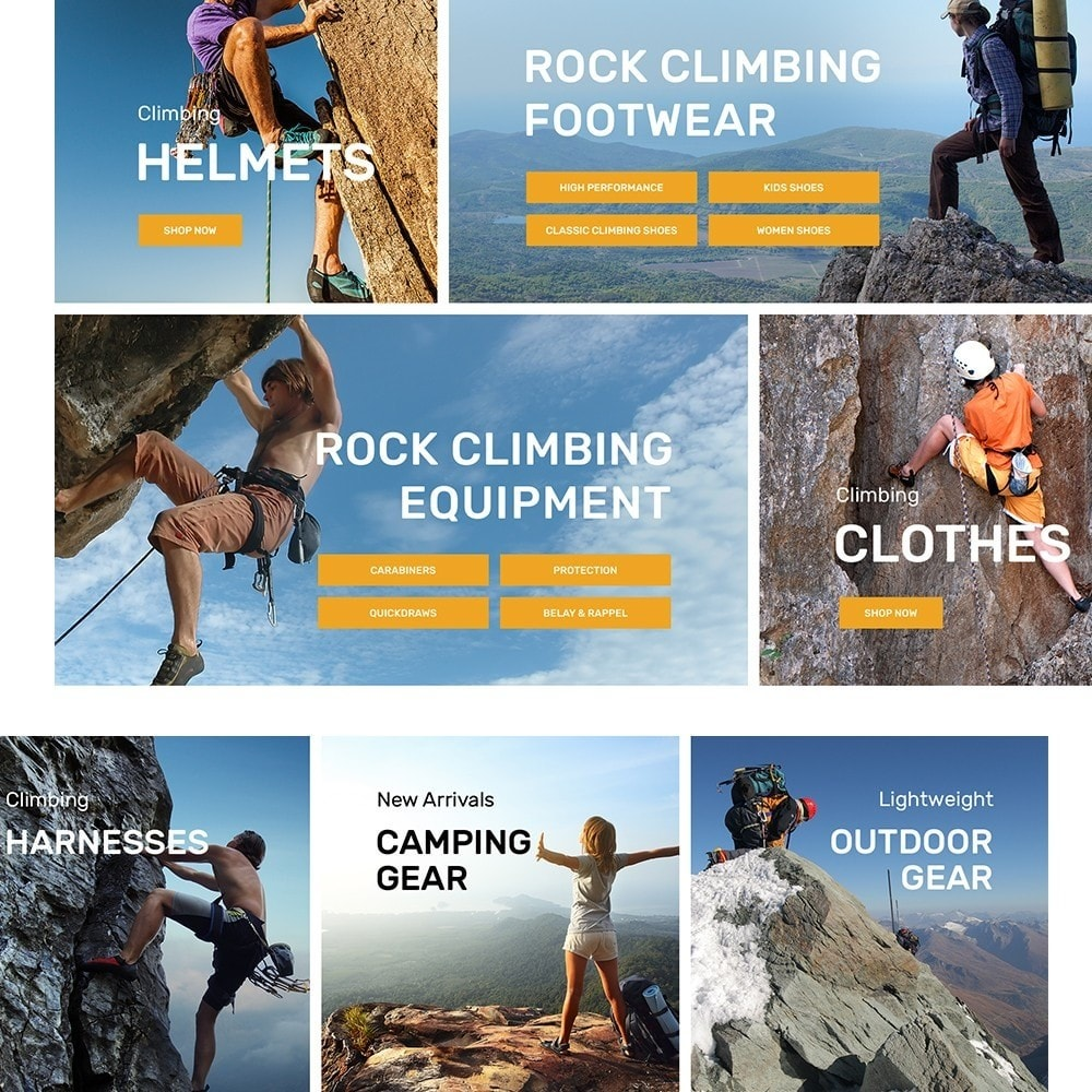 theme - Sports, Activities & Travel - ClimberStore - 4