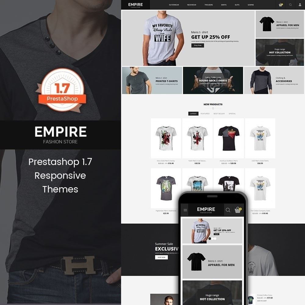 theme - Mode & Chaussures - Magasin de mode Empire - 1