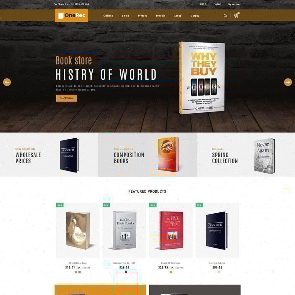 theme - Arte y Cultura - Una tienda de libros de recreo - 3
