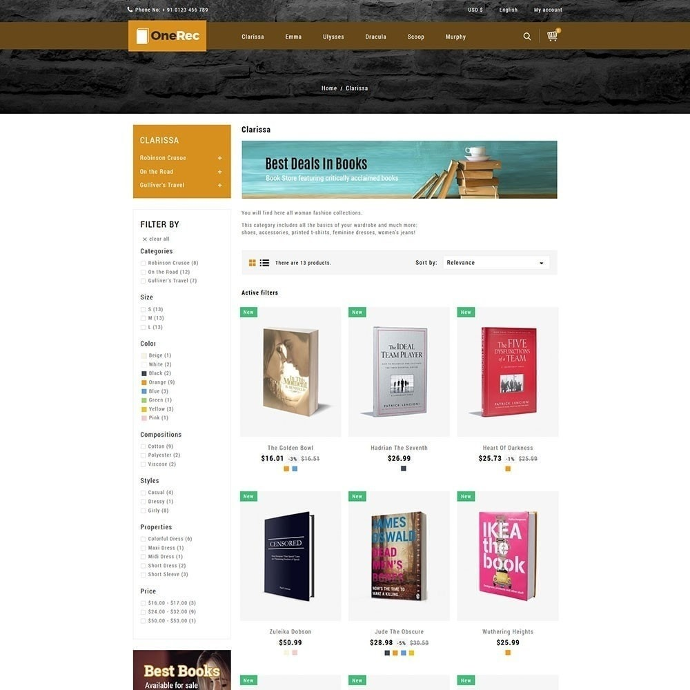 theme - Kunst & Kultur - One Rec Book Store - 5