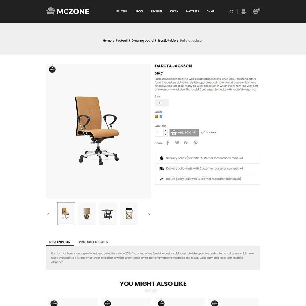 theme - Art & Culture - MacZone Furniture Store - 4