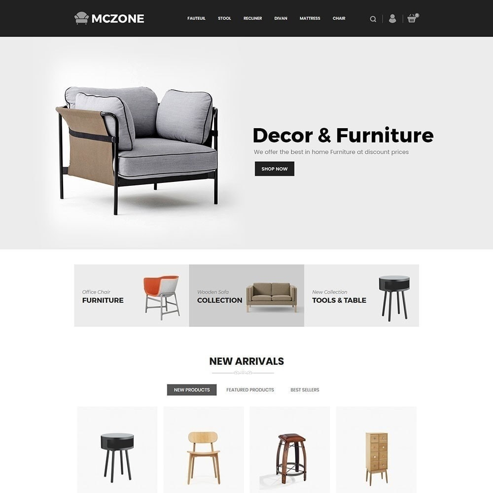 theme - Arte & Cultura - MacZone Furniture Store - 3