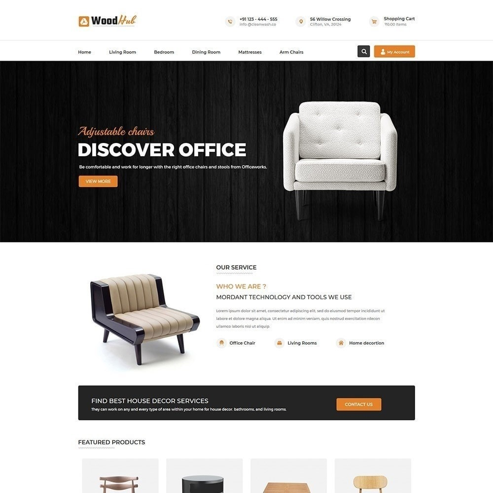 theme - Home & Garden - Woodhub Furniture Store - 2