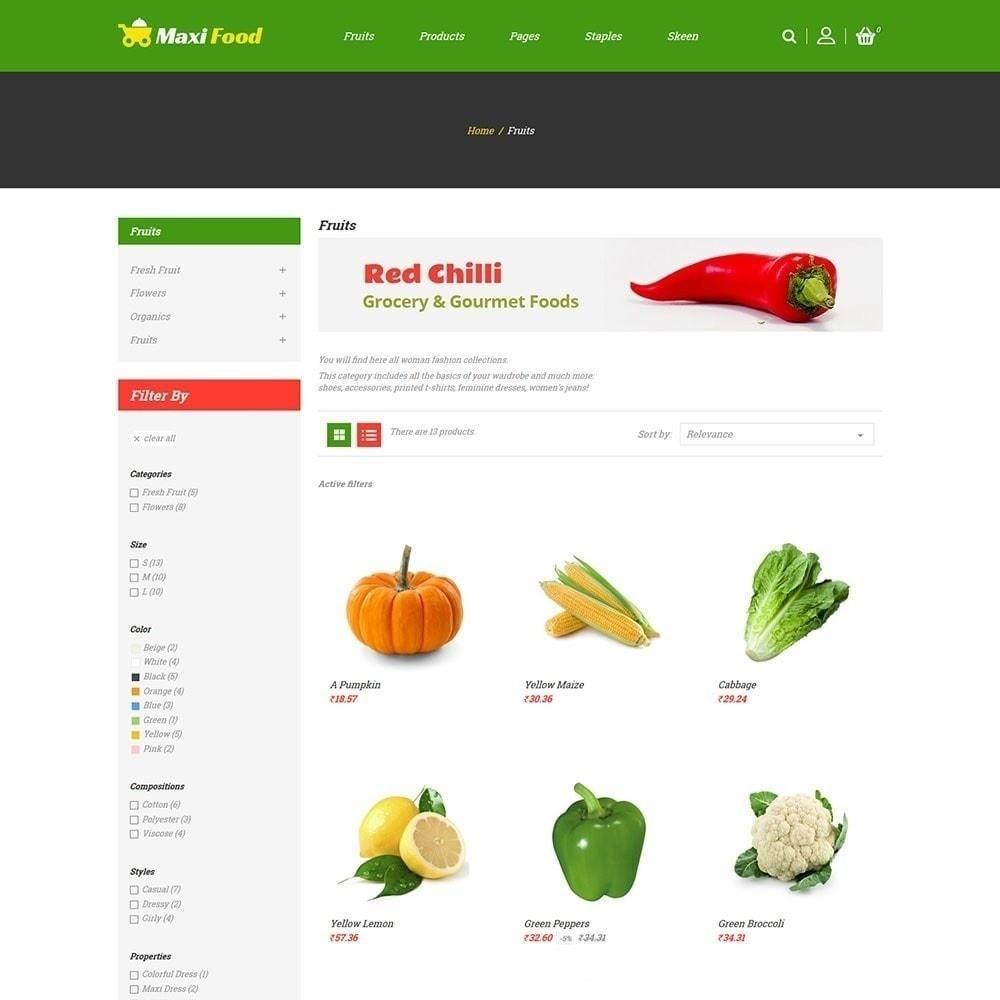 theme - Alimentation & Restauration - Maxi magasin d'alimentation - 3