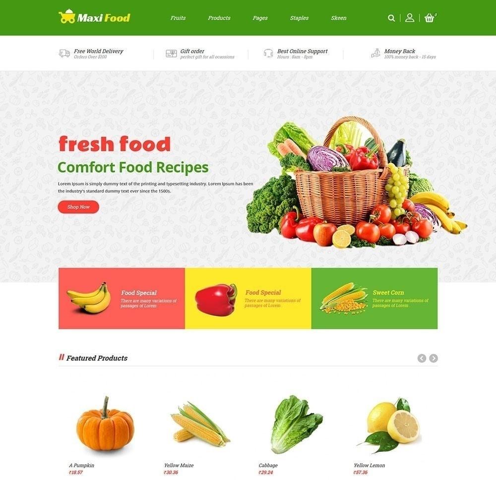 theme - Продовольствие и рестораны - Продовольственный магазин Maxi - 2