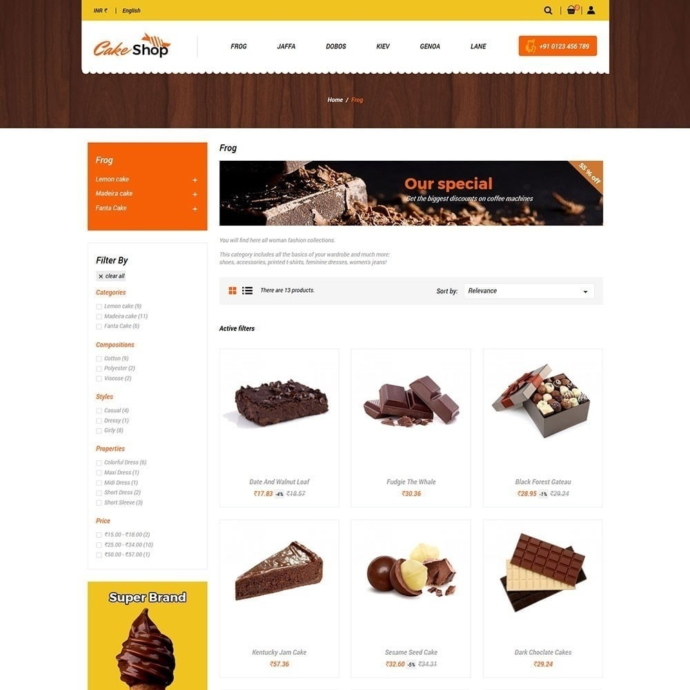 theme - Eten & Restaurant - Taartvoedselwinkel - 5