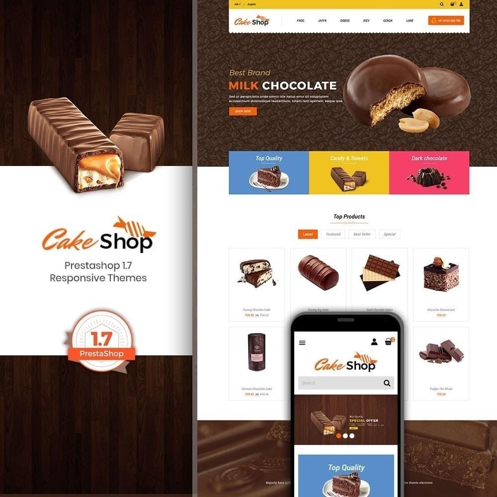 theme - Alimentos & Restaurantes - Loja de bolos - 1