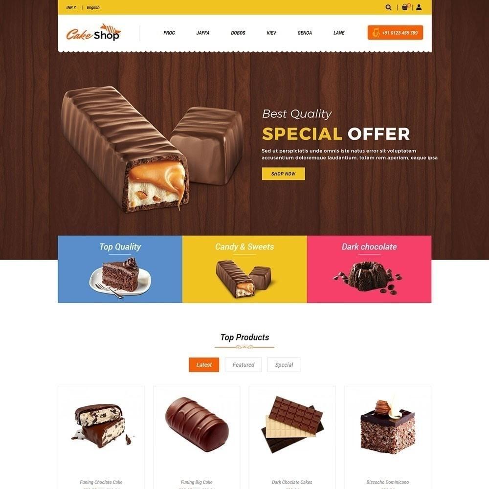 theme - Alimentos & Restaurantes - Loja de bolos - 3