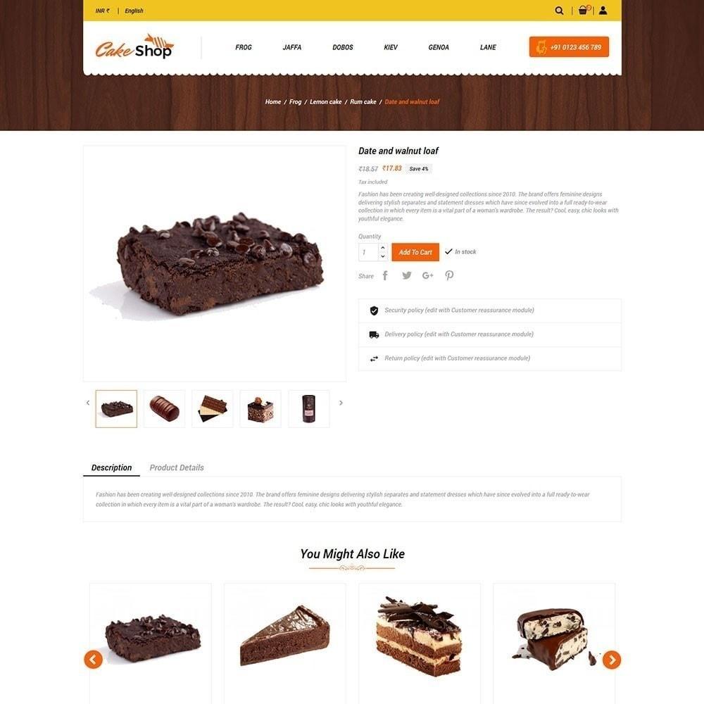 theme - Alimentos & Restaurantes - Loja de bolos - 4
