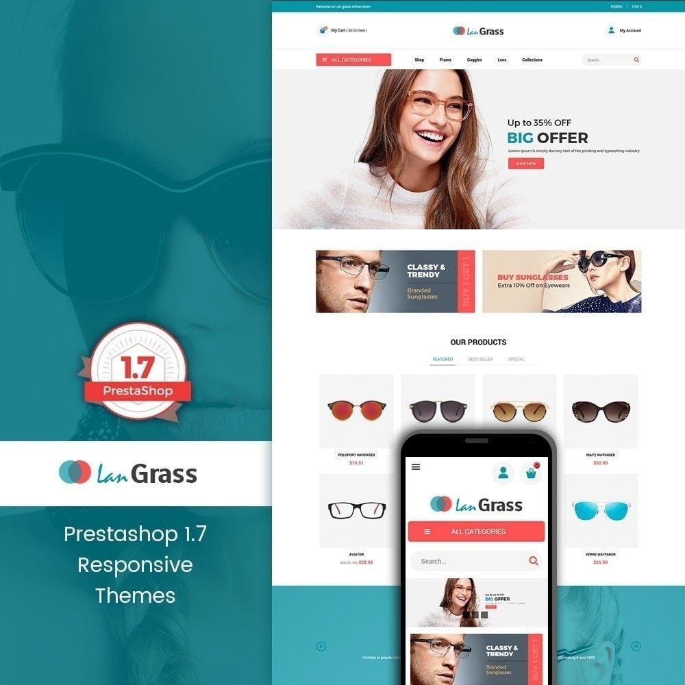 theme - Mode & Schoenen - Lan Grass Fashion Store - 5