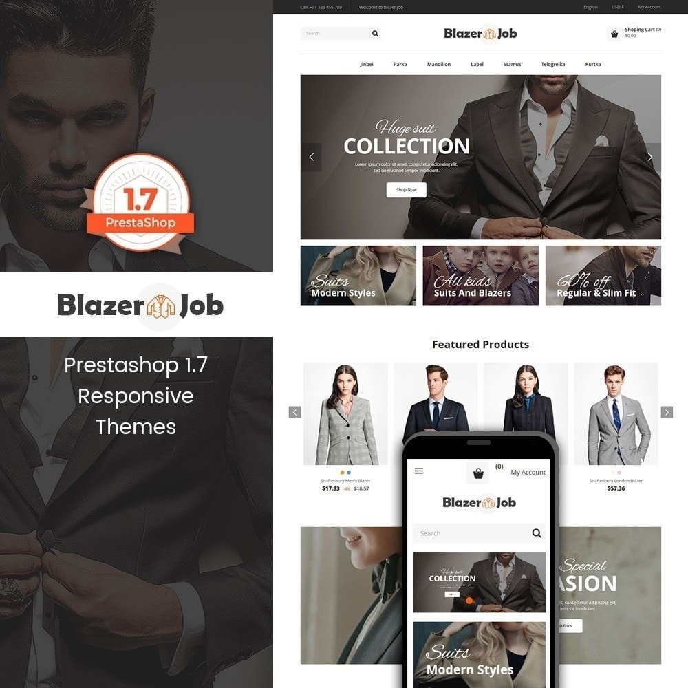 theme - Moda y Calzado - Blazerjob tienda de moda - 1