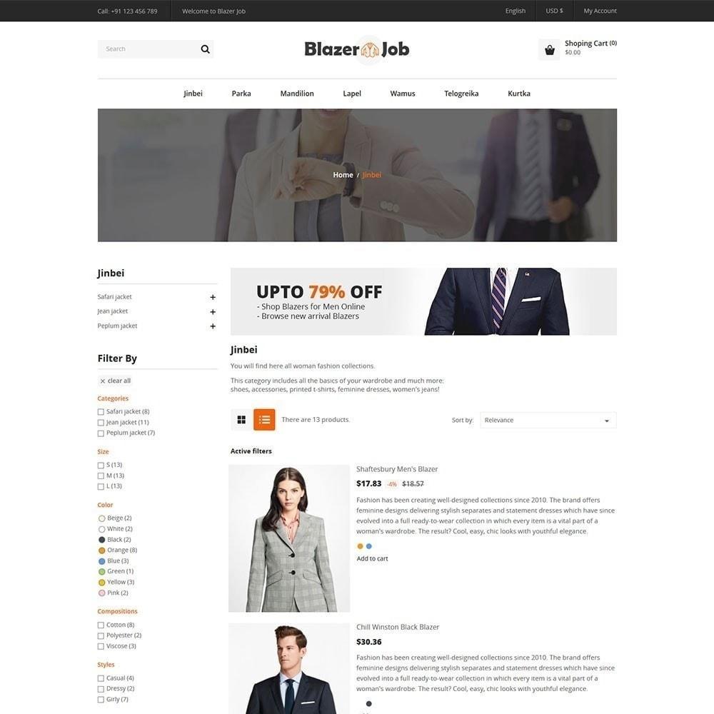 theme - Mode & Schoenen - Blazerjob Fashion Store - 3