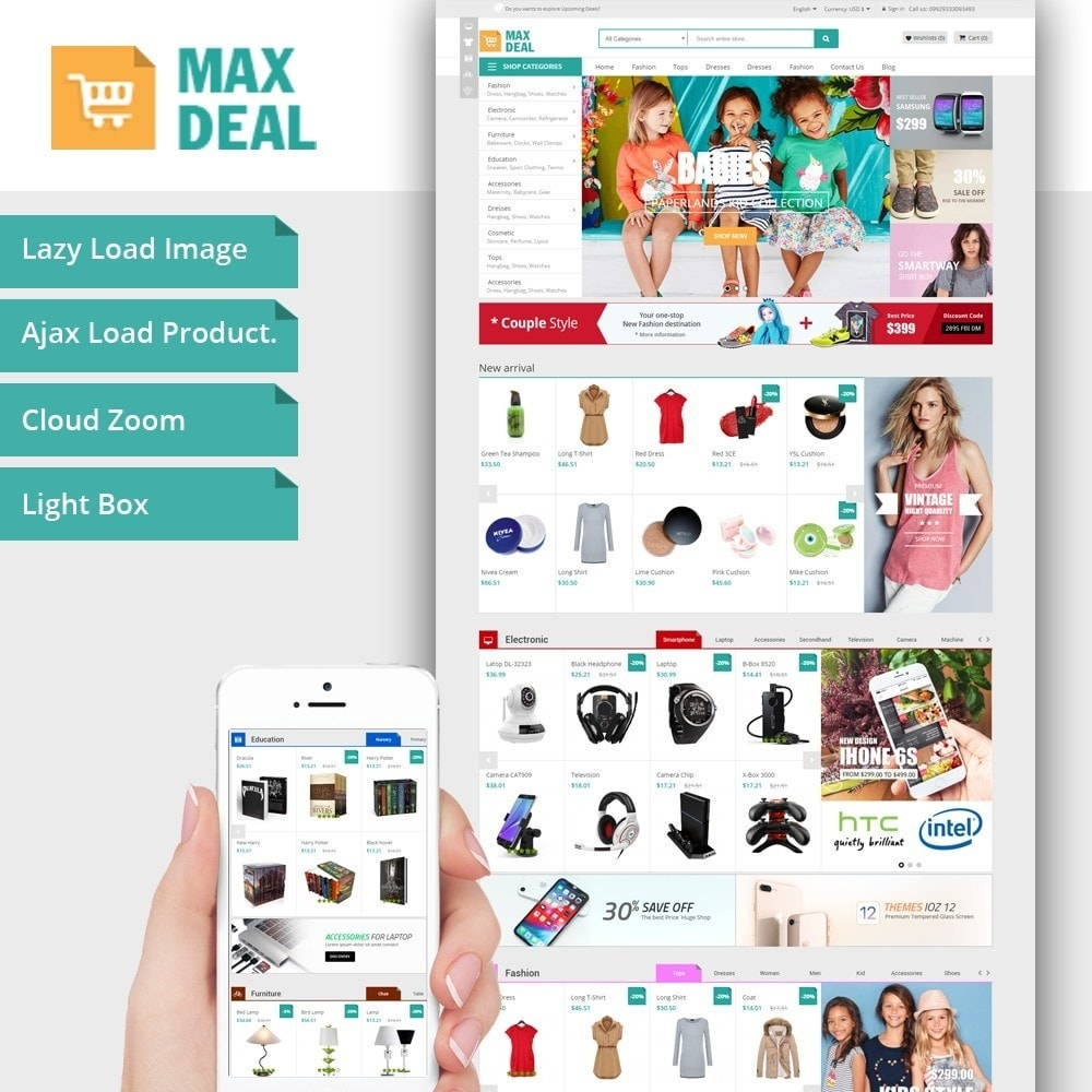 Maxdeal Fashion Market