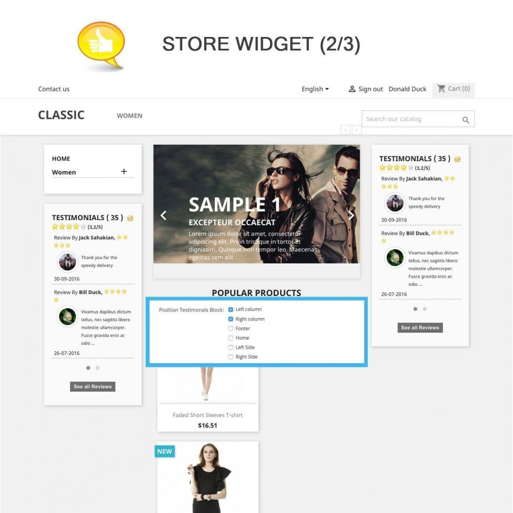 module - Отзывы клиентов - Shop Reviews + Avatars + Reminder + Rich Snippets - 8