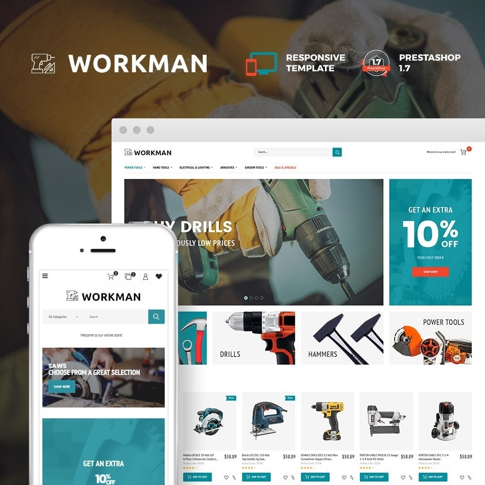 Workman - Tools Store