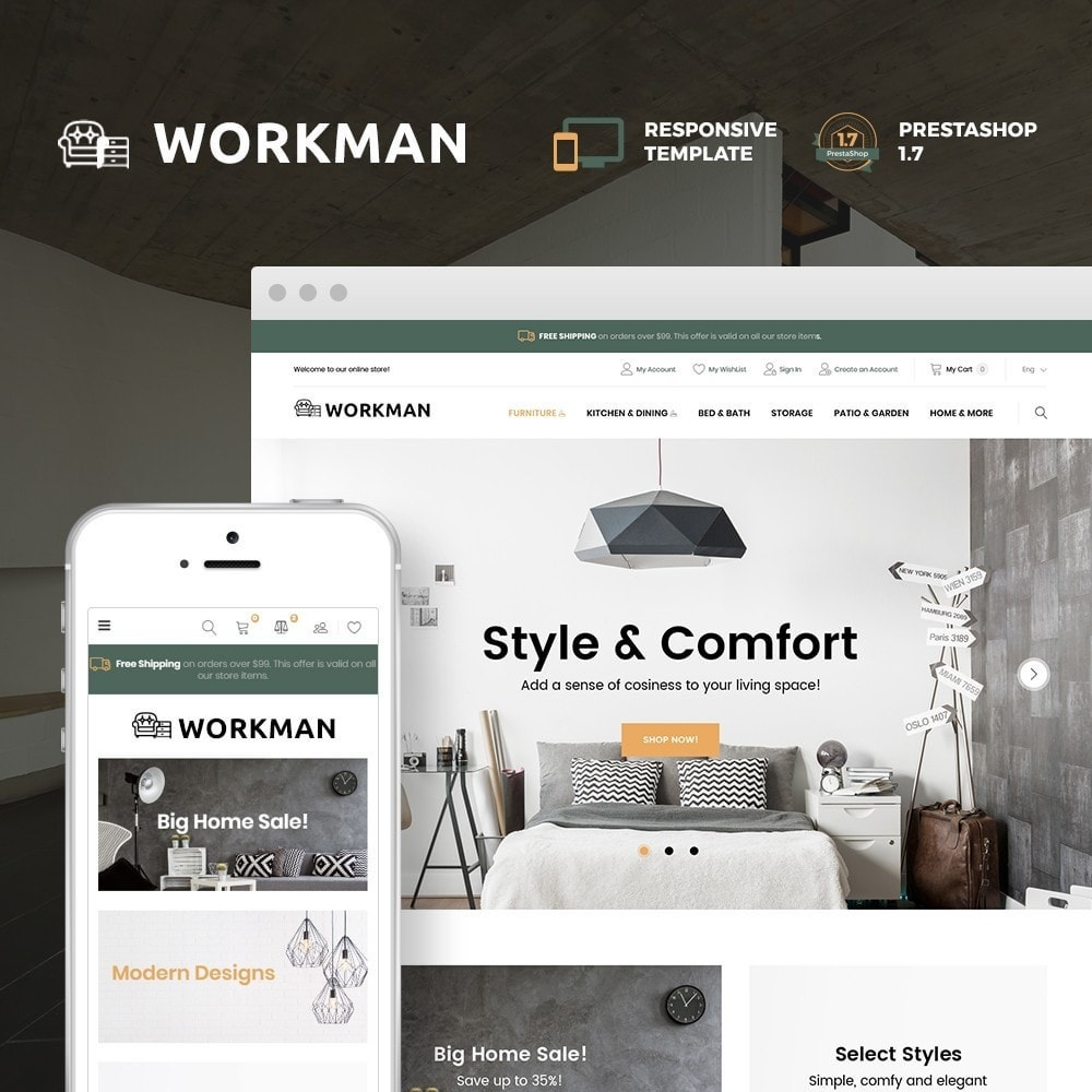 Workman - Furniture Store