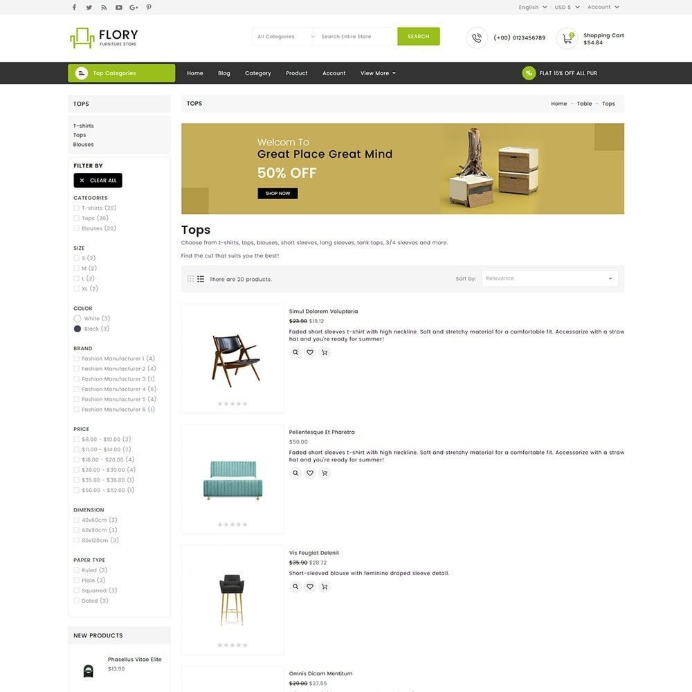 theme - Home & Garden - Flory Wood and Furniture Store - 6