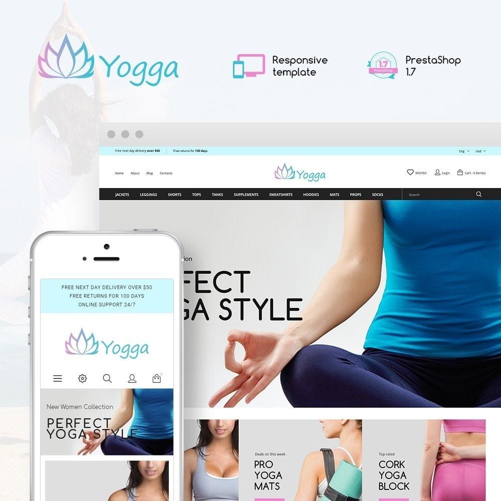 theme - Sports, Activities & Travel - Yogga - Sports Shop - 1
