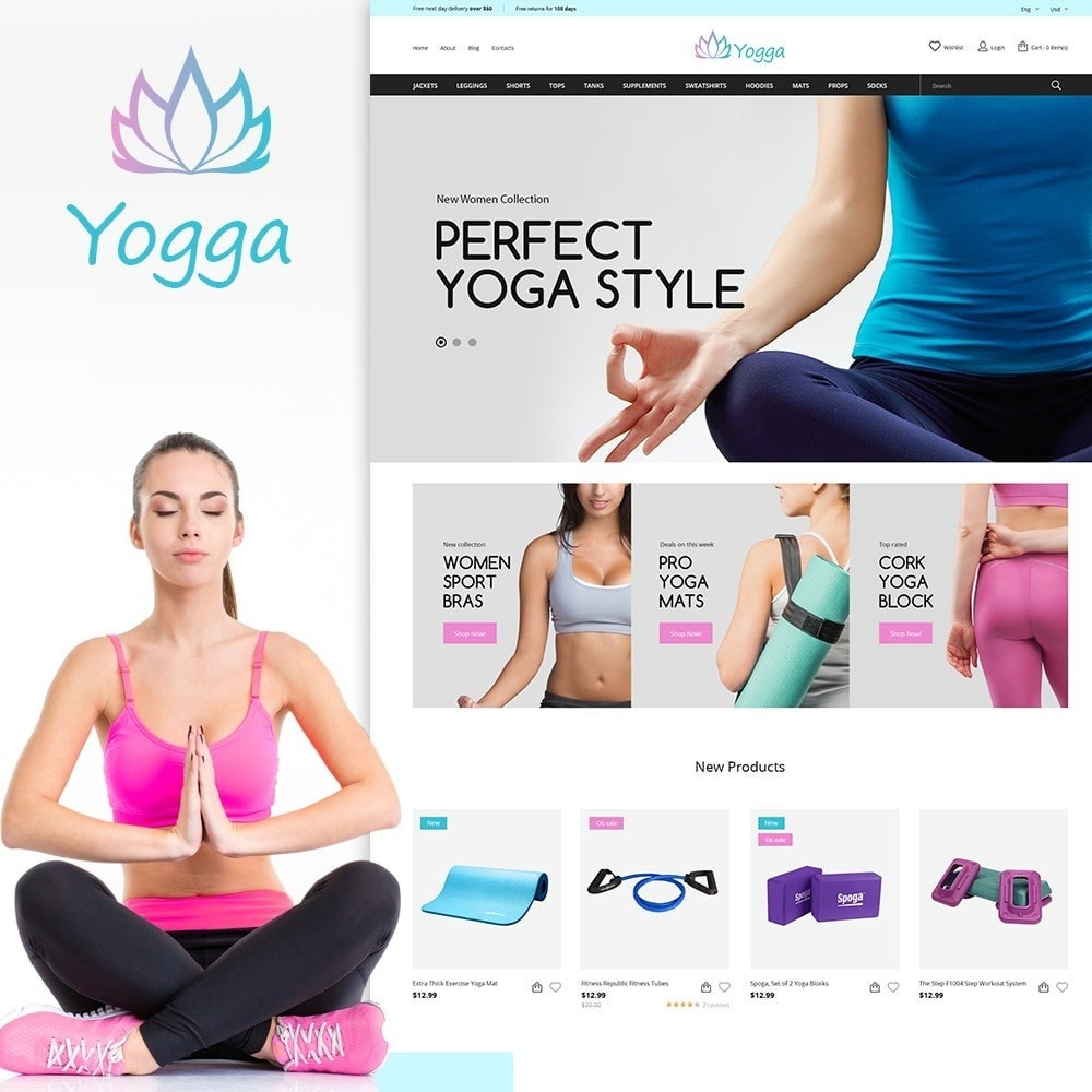 Yogga - Sports Shop