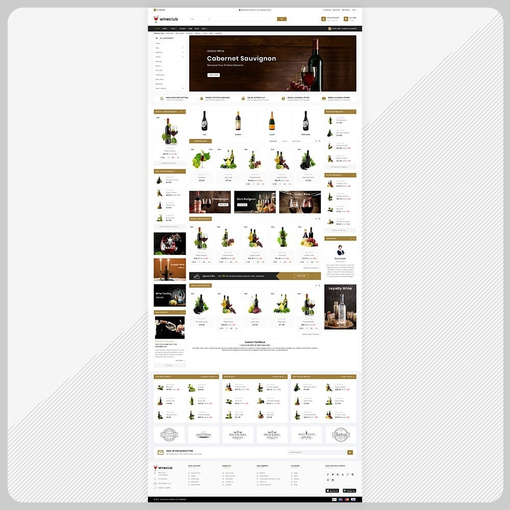 theme - Getränke & Tabak - Brand Wine - Wine Big Store - 2