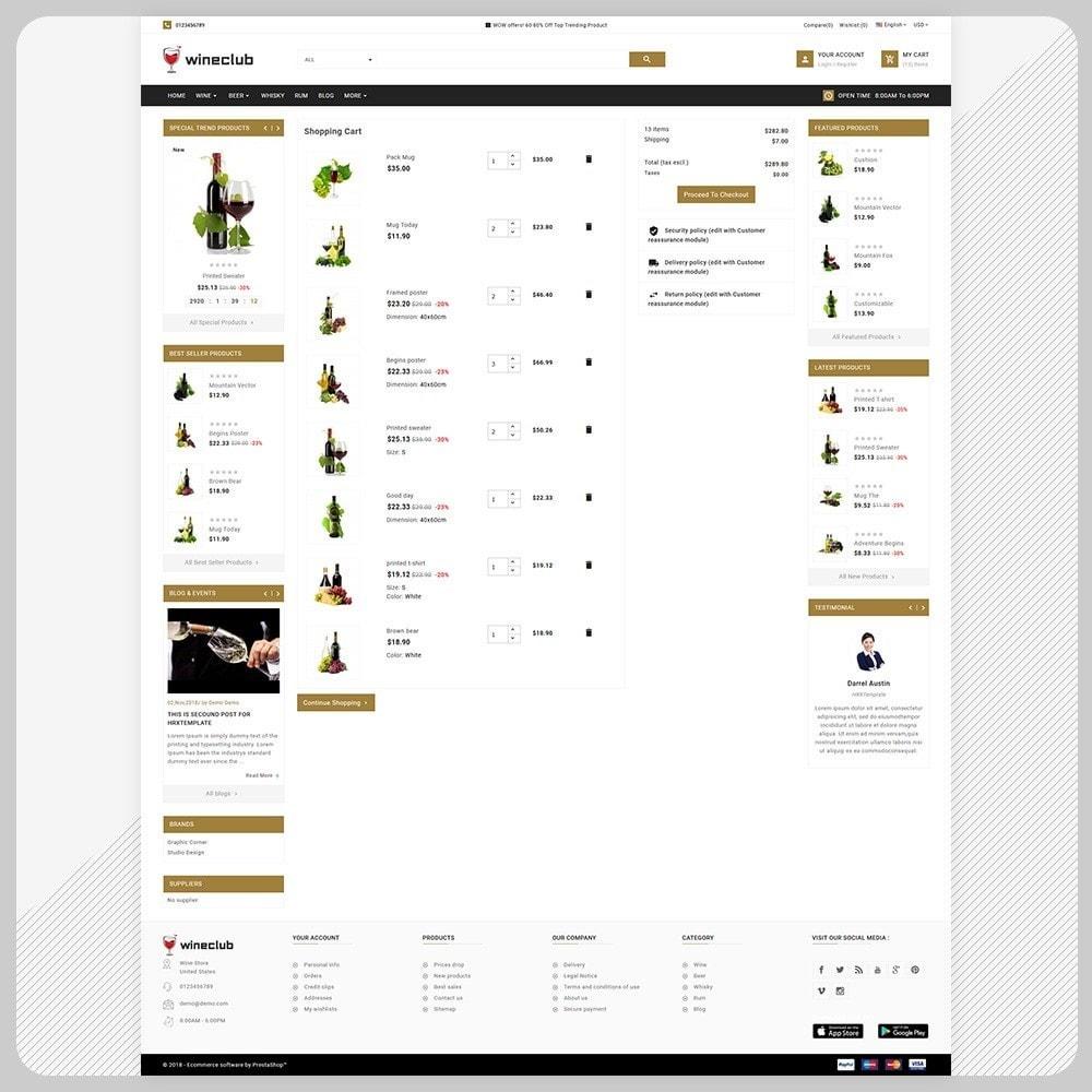 theme - Getränke & Tabak - Brand Wine - Wine Big Store - 6