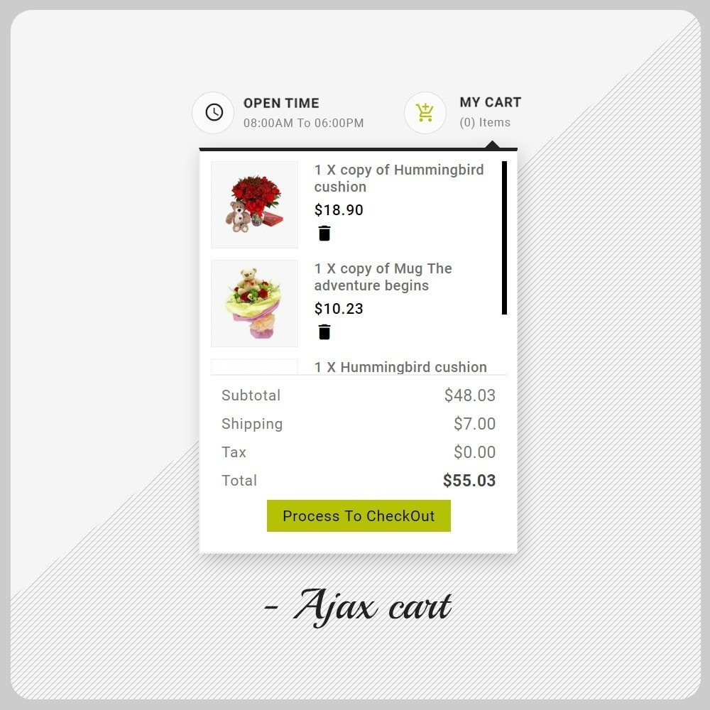 theme - Presentes, Flores & Comemorações - Gift Shop - The Cadeau Shop Multi Purpose - 4