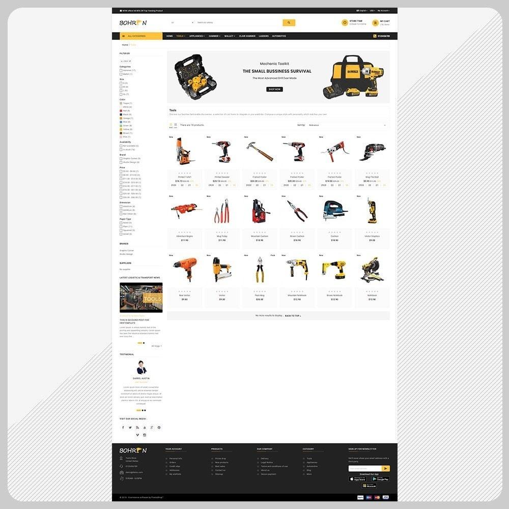 theme - Automotive & Cars - Bohren - Tools Big Store - 3