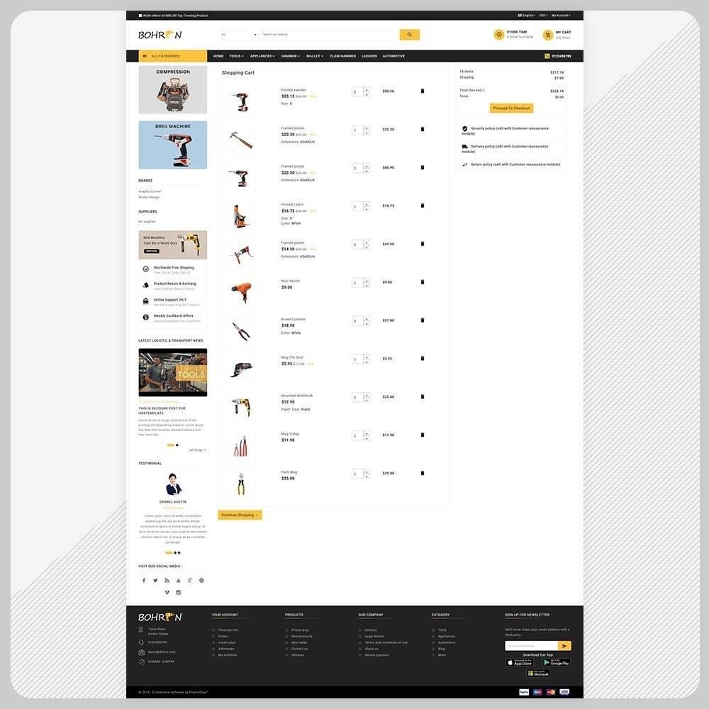 theme - Automotive & Cars - Bohren - Tools Big Store - 4