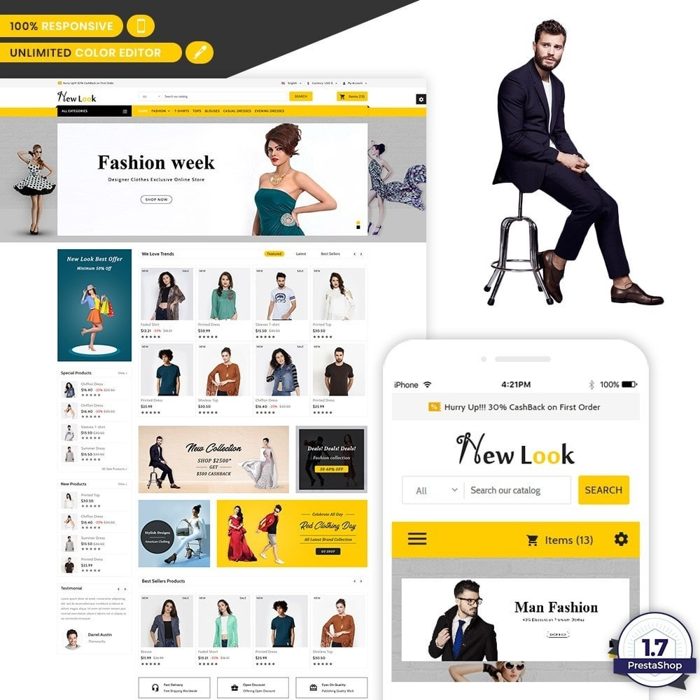 NewLook - Fashion Stylish Store