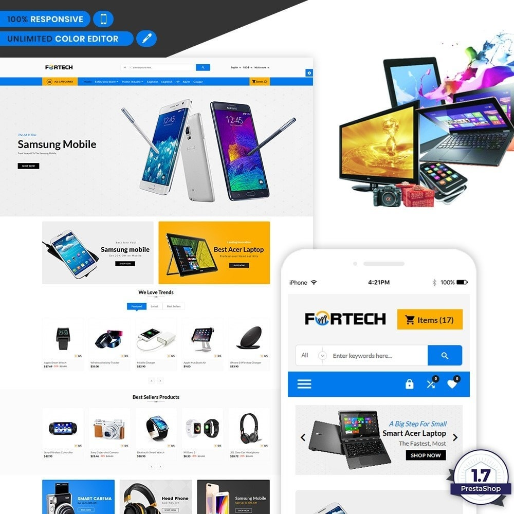 Fortech - Electronics Store