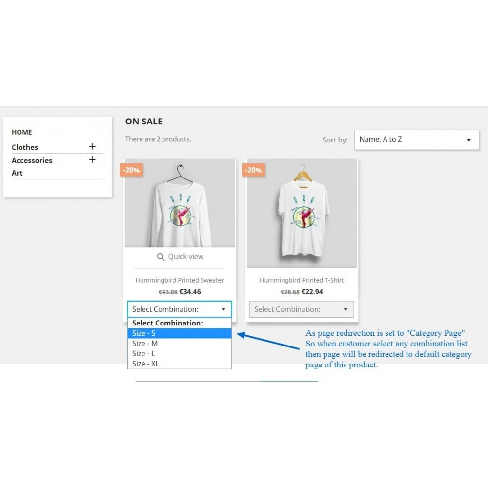 module - Bundels & Personalisierung - Show Product Combination - 8