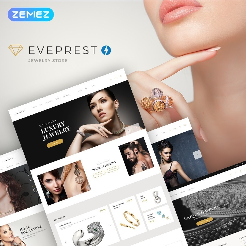 Eveprest - Jewelry Store