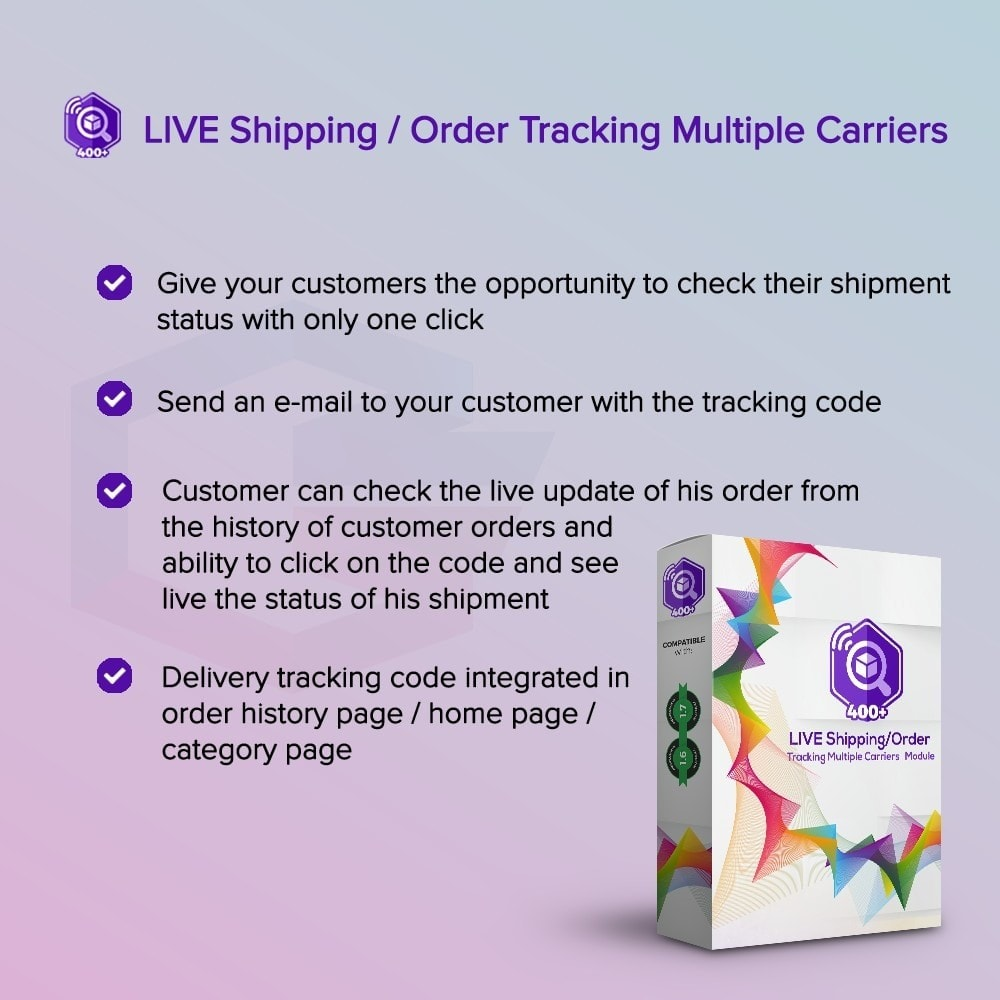 module - Rastreamento da entrega - LIVE Shipping/Order Tracking Multiple Carriers - 1