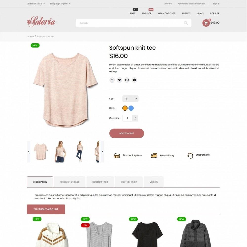 theme - Fashion & Shoes - Sateria Fashion Store - 6