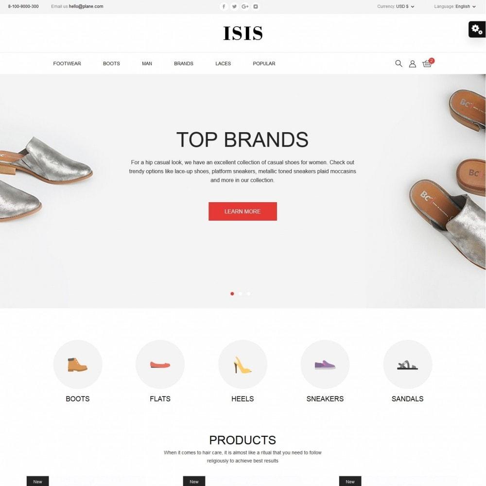 theme - Fashion & Shoes - Isis Shop - 2