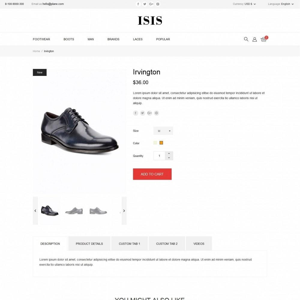 theme - Fashion & Shoes - Isis Shop - 6