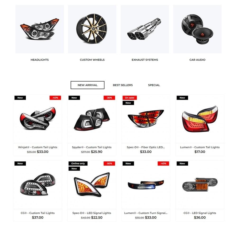 theme - Automotive & Cars - Chromium - 3