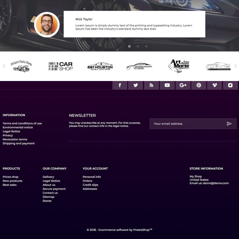 theme - Automotive & Cars - Chromium - 4
