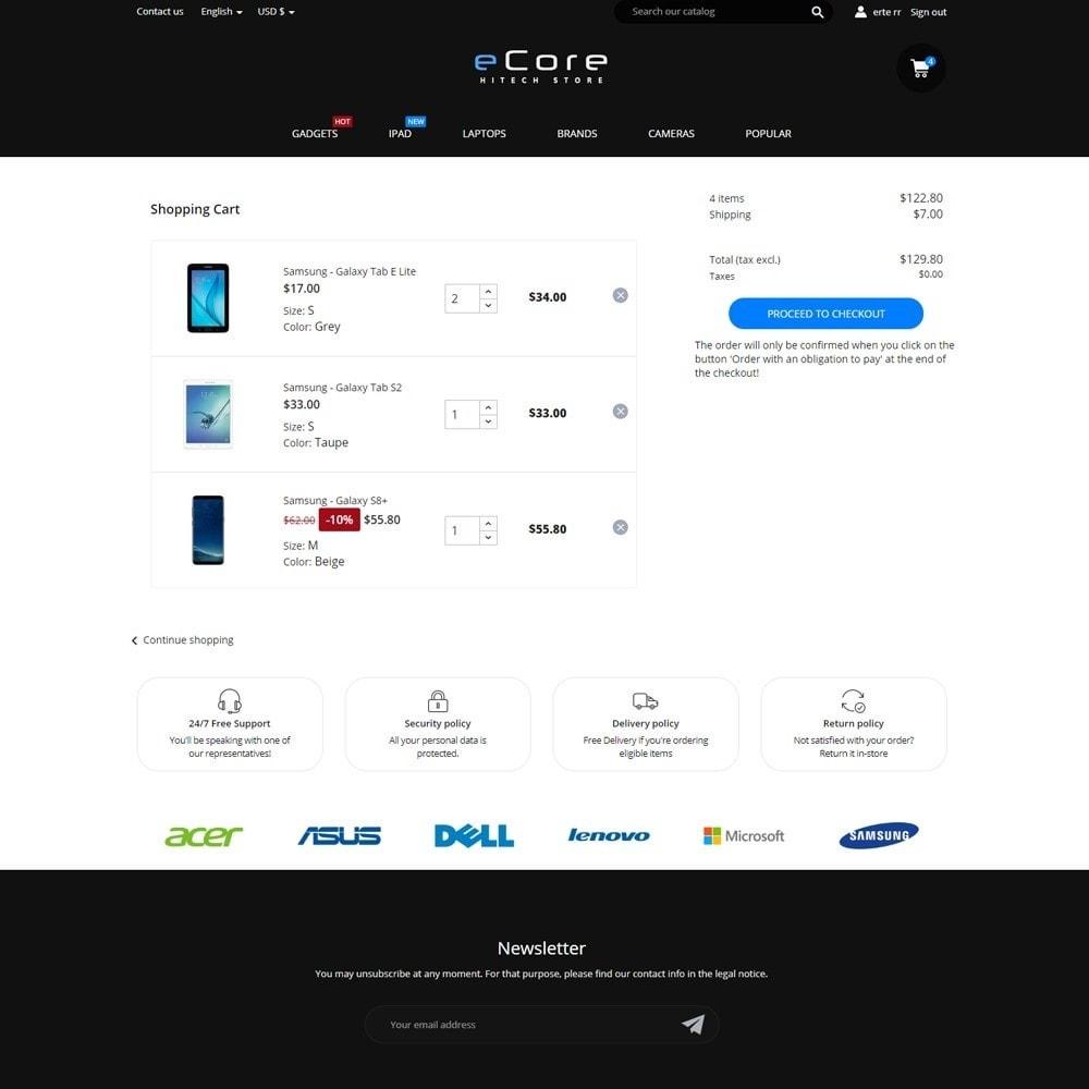 theme - Electronics & Computers - eCore - High-tech Shop - 7