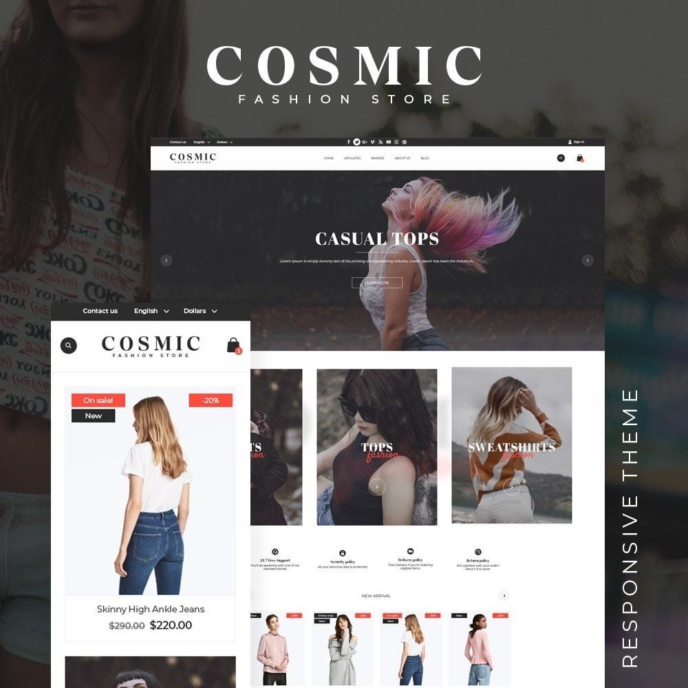 theme - Fashion & Shoes - Cosmic Fashion Store - 1