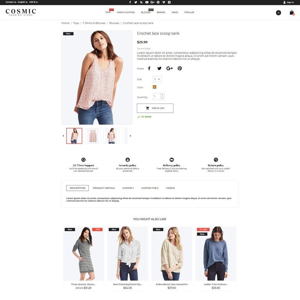 theme - Fashion & Shoes - Cosmic Fashion Store - 5