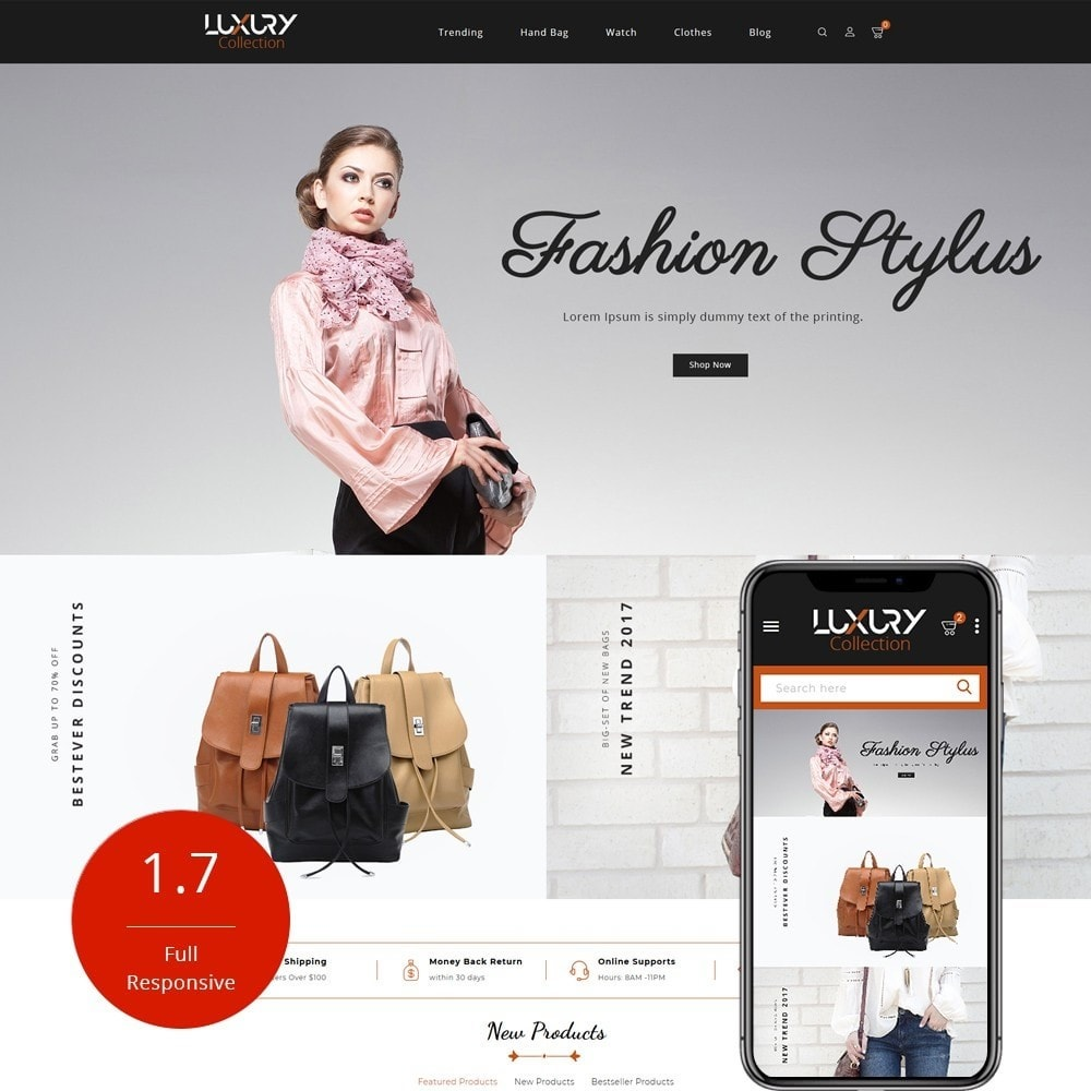 Luxury - fashion shop
