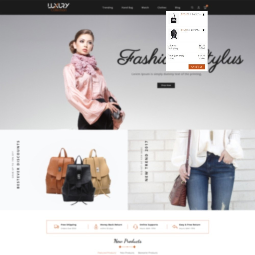 theme - Mode & Schuhe - Luxury - fashion shop - 8