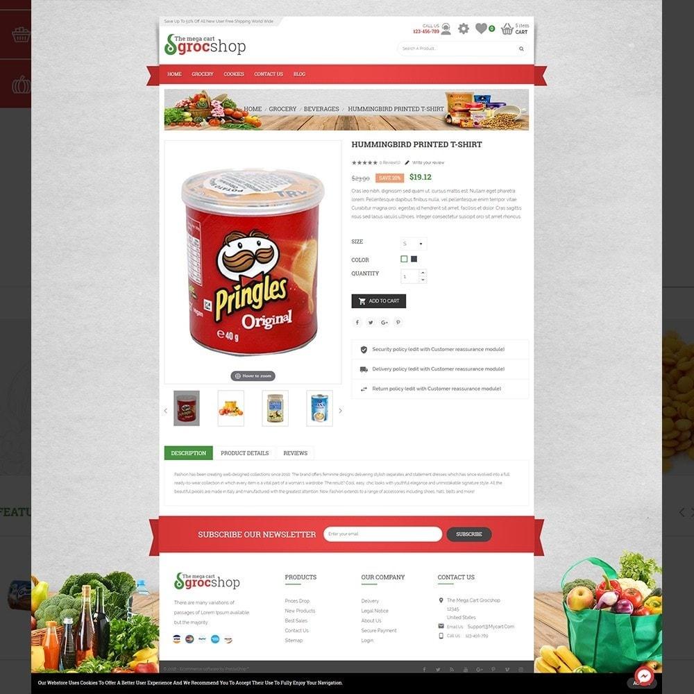 theme - Żywność & Restauracje - grocshop - vegetables & grocery store - 5