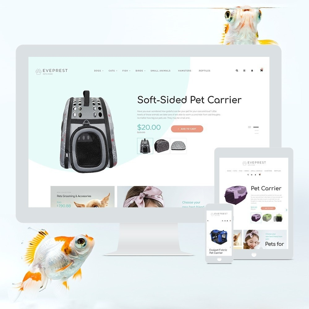 theme - Animals & Pets - Eveprest - Pets Store - 3