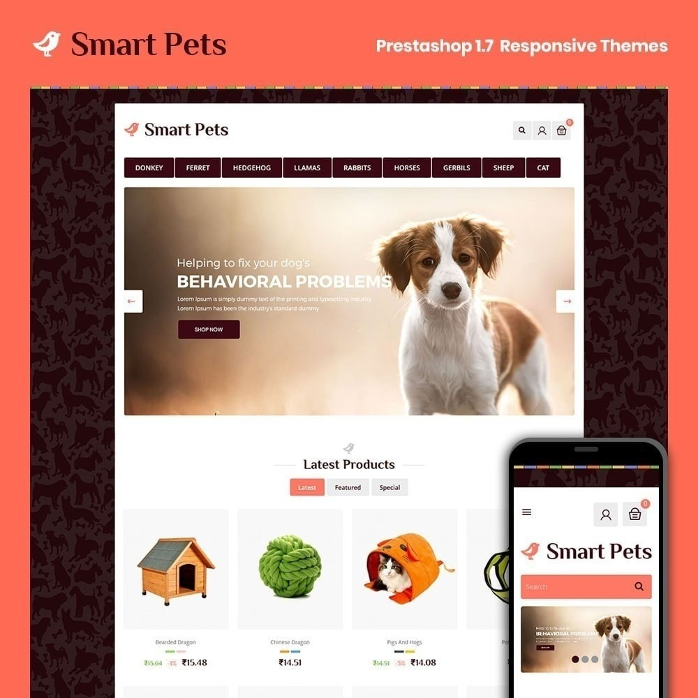 theme - Animals & Pets - Smart Pet - Animal Pet Store - 1