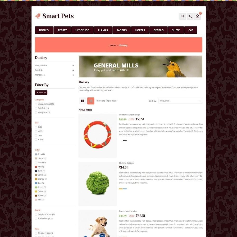 theme - Animals & Pets - Smart Pet - Animal Pet Store - 4